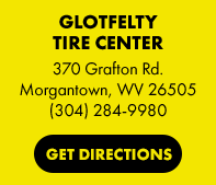 Glotfelty Tire Center in Morgantown, WV