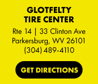 Glotfelty Tire Center in Parkersburg, WV
