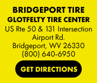 Bridgeport Tire in Bridgeport, WV